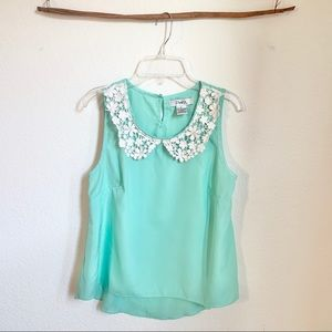 Sleeveless mint